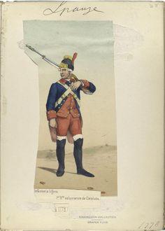 1778 - 1r Reg. Infanteria Lleugera de Voluntaris de Catalunya.  http://images.nypl.org/index.php?id=87648&t=w