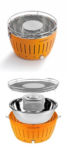 Lotus Portable Charcoal Grill - perfect for grilling on the go