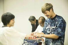 Kim Hyun Joong | Hot Sun single thank you fan signing event