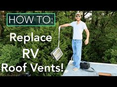 New RV Roof Vent Replacement | Full Time RV Renovation   15   YouTube