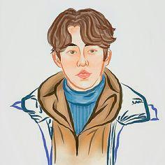 Nam Joo Hyuk #FanArt #WeightliftingFairyKimBokJoo #KimBokJoo #Habaek #LeeSungKyung #SwagCouple #BrideOfWaterGod