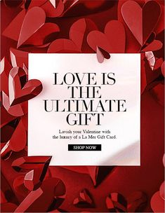 La Mer: Lavish Your Valentine With the La Mer Gift Card Itunes Gift Cards, Free Gift Cards, La Mer Gifts, Valentine Poster, Chinese New Year Card, Email Design Inspiration, Day And Mood, Gift Card Boxes, Gift Card Giveaway