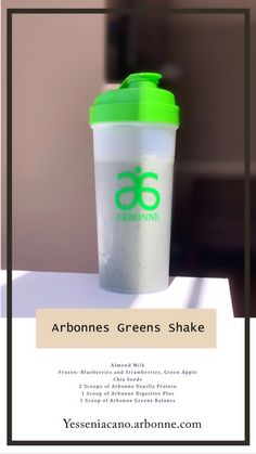 Arbonnes Greens Shake Rise and get your daily Greens! This shake is packed with vitamins, fruits and vegetables. The perfect on the go breakfast ✨ Arbonne Shake Recipes, Arbonne Protein Shakes, Protein Shake Recipes, Smoothie Recipes, Arbonne 30 Day Cleanse, Arbonne 30 Day Challenge, Arbonne Detox, Superfood, Arbonne Nutrition