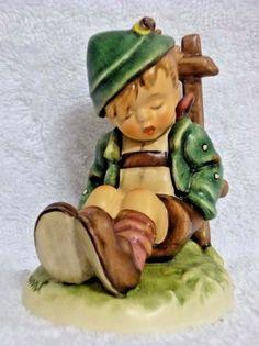 Goebel Germany Hummel Figurine Afternoon Nap #836 TMK8