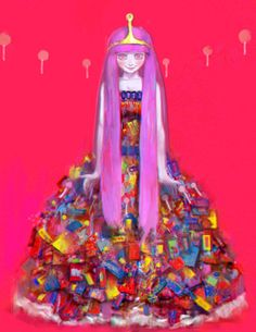Princess Bubblegum!