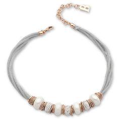 Chunky Silver Necklace, Beaded Necklace, Jewelry Art, Swarovski, Bijoux, Beading, Necklaces, Rose Gold, Jewerly