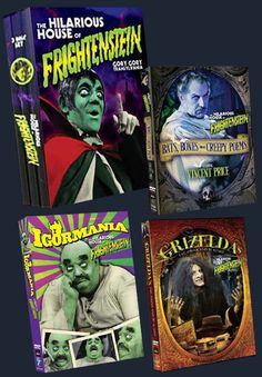 Frightenstein covers