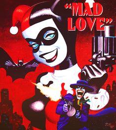 Harley Quinn and The Joker Batman Comic Art, Im Batman, Batman Comics, Superman, Batman The Animated Series, Bruce Timm, Dc Comics Art, Batman Universe, Joker And Harley Quinn