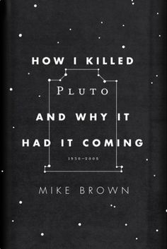 how i killed pluto and why it had it coming - alt cover by oliver munday