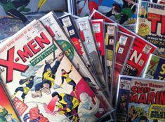 Pile 'o comic books!