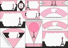 París: Imprimibles e Invitaciones para Imprimir Gratis. | Ideas y material gratis para fiestas y celebraciones Oh My Fiesta!