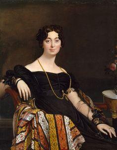 Jean Auguste Dominique Ingres - Portrait de Madame Leblanc (1823)