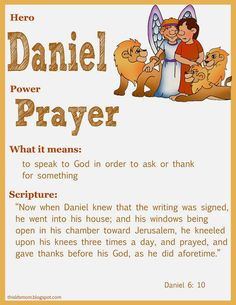 This LDS Mom: Scripture Heroes: Daniel in the Lion's Den