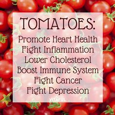 Food Facts: 6 Health Benefits of Tomatoes | Holistic | Natural Remedies