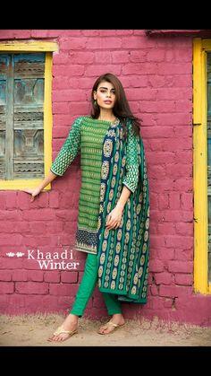 Khaadi winter 2015 pakistani suits