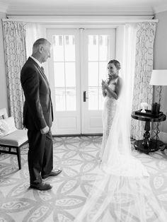 father daughter first look - #BERTA bride