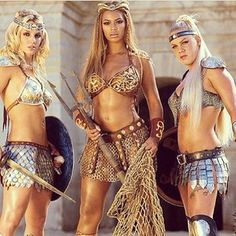 Beyonce shared this EPIC and FIERCE photo of herself with Britney Spears and Pink, on the set of their Pepsi commercial in 2004. #tbt