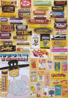 Remember any of these? Vintage Sweets, Retro Sweets, Vintage Food, 70s Sweets, Vintage Ads, 1980s Childhood, Childhood Memories, Toffee Crisp, Caramac