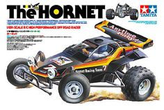Tamiya – Scale The Hornet High Performance Off Road Racer Ready to Assemble Type - Truggy, Rc Buggy, Rc Cars And Trucks, Nintendo, Childhood Days, Good Ole, Hornet, Radio Control, Tamiya, Plastic Models