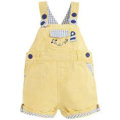 Pantalón peto corto de sarga Amarillo - Mayoral 21,99