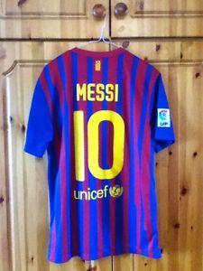 Barcelona Football Club Home Jersey 2011 - 2012 Messi 10 Medium Adult Nike