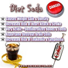 more diet soda dangers! Some of the reasons I quit!