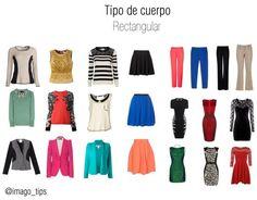 Body Shape: Rectangle Outfits