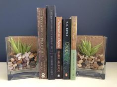 Customize the Inside of These Bookends to Reflect What's Between Them: DIY Bookends in 2 Simple Steps