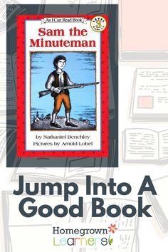 Jump into a Good Book: Sam the Minuteman #homeschool