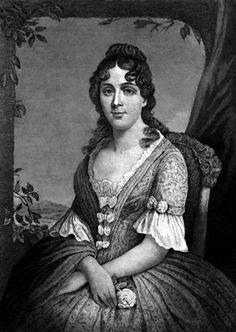 Martha Wayles Skelton Jefferson was the wife of Thomas Jefferson.