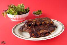 Ces côtes de porc à la paysanne) délicieuses et tendres sont faibles en sucre mais riches en saveur.