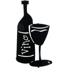 Bottle of Vino Wall Decor