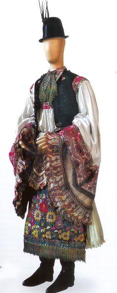 Matyo male costume Mezokovesd Borsod County Hungary 1890-1010