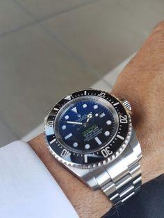 Rolex deepsea blue.Nov.2016