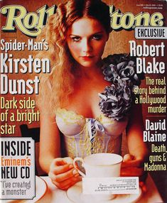 Rolling Stone Magazine Cover, Model Magazine, Kirsten Dunst, Bright Stars, Vintage Magazines, Eminem, Hollywood Actresses, Rolling Stones, Dark Side