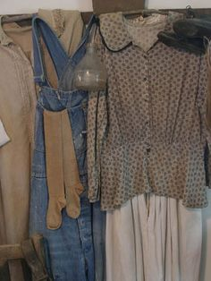 Prairie dress and farm overalls