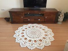 Beautiful Crochet rug TUTORIAL http://youtu.be/Ta97CDpS1Hs