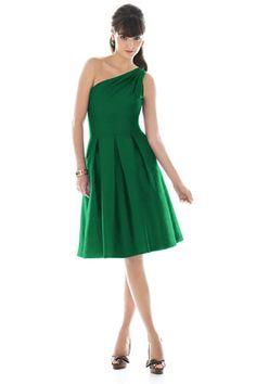 short cute bridesmaids' dress $89, but not green.