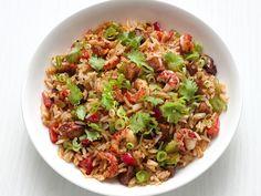 Cajun Crawfish Fried Rice recipe from Food Network Kitchen via Food Network