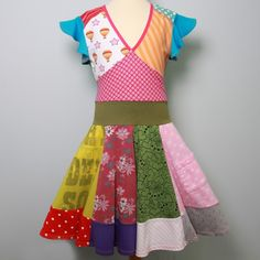 made of lots of different recycled t-shirts... so beyond cute!