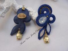 Soutache Necklace, Tassel Earrings, Ring Earrings, Shibori, Boho Jewelry, Jewelery, Gold Bridal Earrings, Beaded Embroidery, Beads