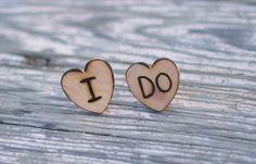Groom/Groomsmen Wedding Cufflinks - wooden