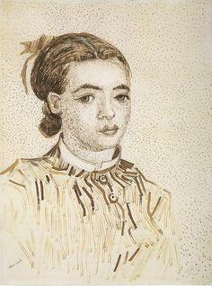 Vincent Van Gogh 1853-1890   Drawing