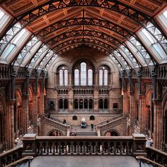 As pinned on T+L's Pinterest: Natural History Museum, London. Photo courtesy of aphototraveler on Instagram.