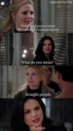 Outnumbered by straight people. Swan Queen, Once Upon a Time!!