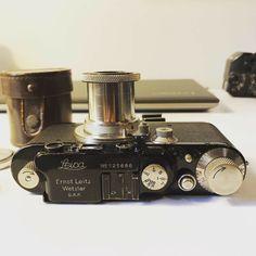 Leica Leitz III Black #125xxx 5cm 2.5 Hektor #125xxx Nickel Oscar Barnack Visor | eBay Leica Camera, Oscar, Ebay, Best Deals