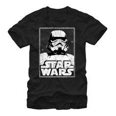 Star Wars Men's - Stormtrooper Logo T-Shirt