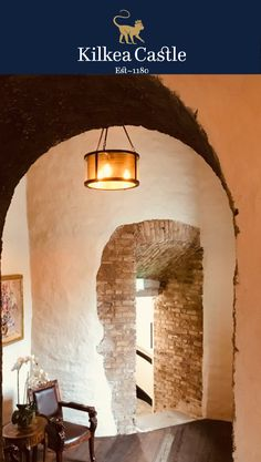 During the massive renovation of the 1180 Castle the owners decided to keep some of the original stonework exposed mixing in modern luxury with old world charm. #irishcastle #castle #luxuryhotel #ireland #visitireland #exploreireland