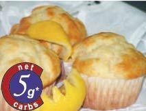 LOW CARB CARBQUIK Lemon Muffins