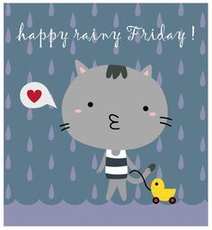 Happy rainy day quotes - quotes of the day Good Night Image, Good Morning Good Night, Good Morning Quotes, Night Quotes, Hello Friday, Good Friday, Happy Friday, Friday Images, Friday Pictures